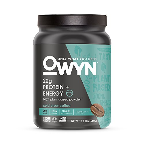 Protein Shakes Needed: OWYN Only What You Need 100% Vegan Plant-Based Protein
